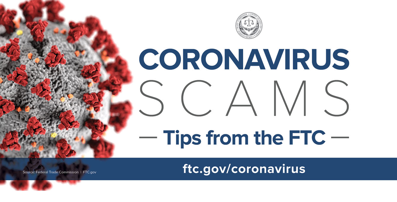 Coronavirus scams - Tips from the FTC